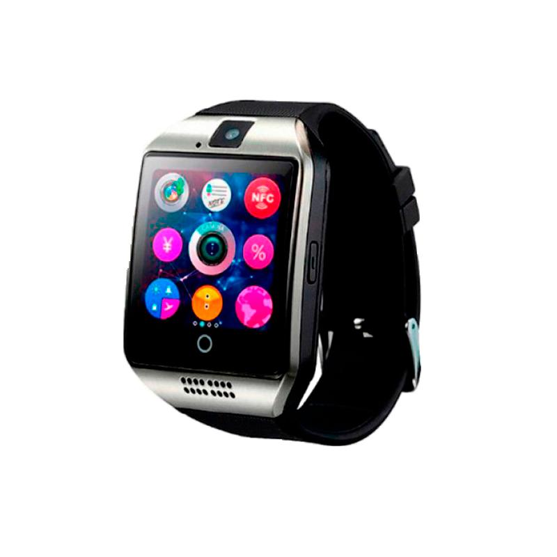 Цифровые умные смарт-часы — Smart Watch SMART Q18 UWATCH NFC BLACK