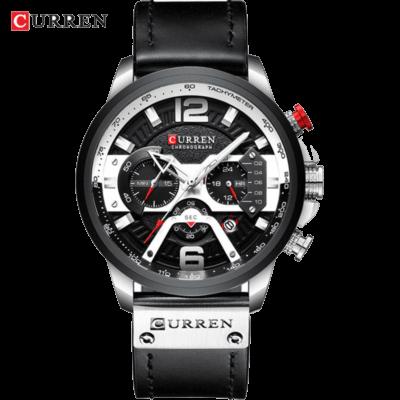 Часы Curren Titanium Premial wach Black-Silver с титановым корпусом 100% Оригинал!