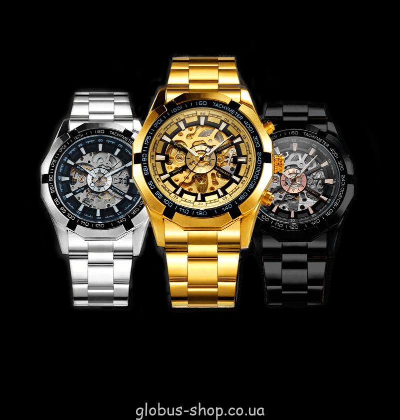 Мужские наручные часы Winner TM340 класса «Люкс»